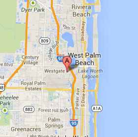 Map Of West Palm Beach Florida.Data Recovery West Palm Beach By Sert Data Recovery