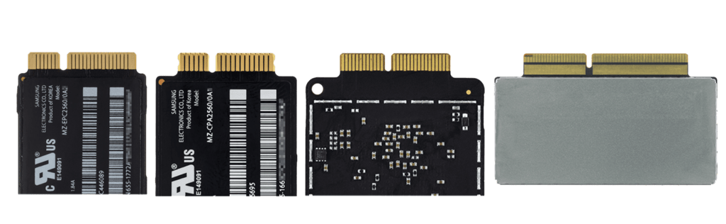 pci express ssd apple pin outs